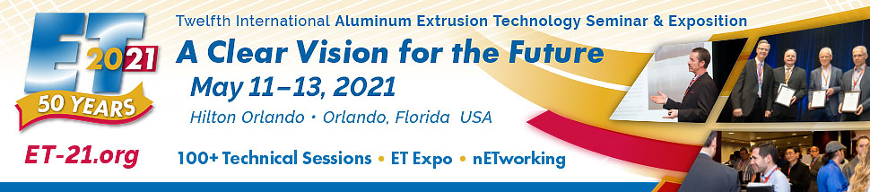 Twelfth International Aluminum Extrusion Technology Seminar & Exposition