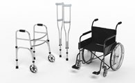 Aluminum Extrusions used in mobility equipment