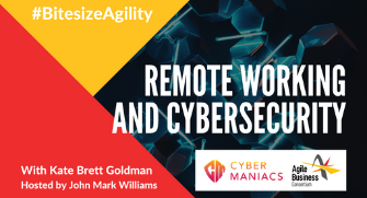 Bitesize Agility, Episode 1: Remote Working and Cybersecurity