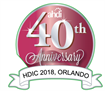 40th anniversary logo