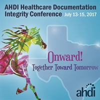 2017 Healthcare Documentation Integrity Conference