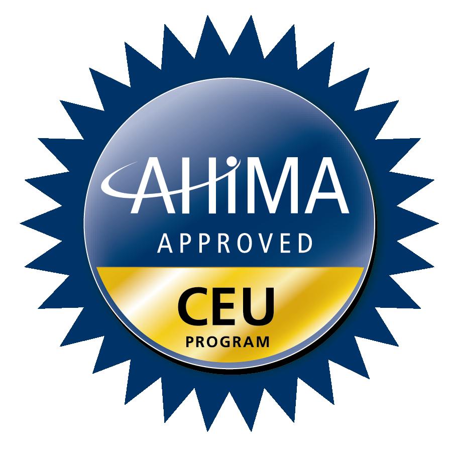 AHIMA CEU logo