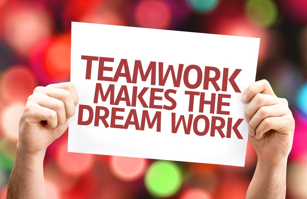 teamwork makes the dream work graphic