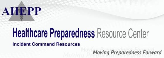 incident command association of healthcare emergency preparedness professionals. Black Bedroom Furniture Sets. Home Design Ideas