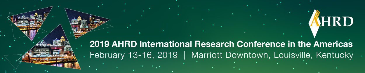 2019 AHRD International Research Conference in teh Americas logo