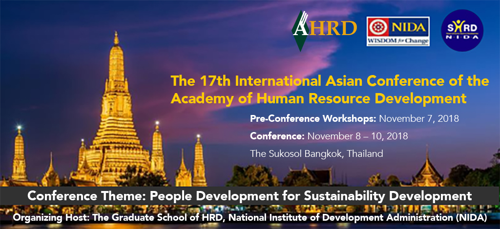 2018 AHRD International Research Conference in Asia