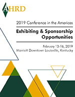 2019 AHRD Conference Exhibiting & Sponsorship Prospectus