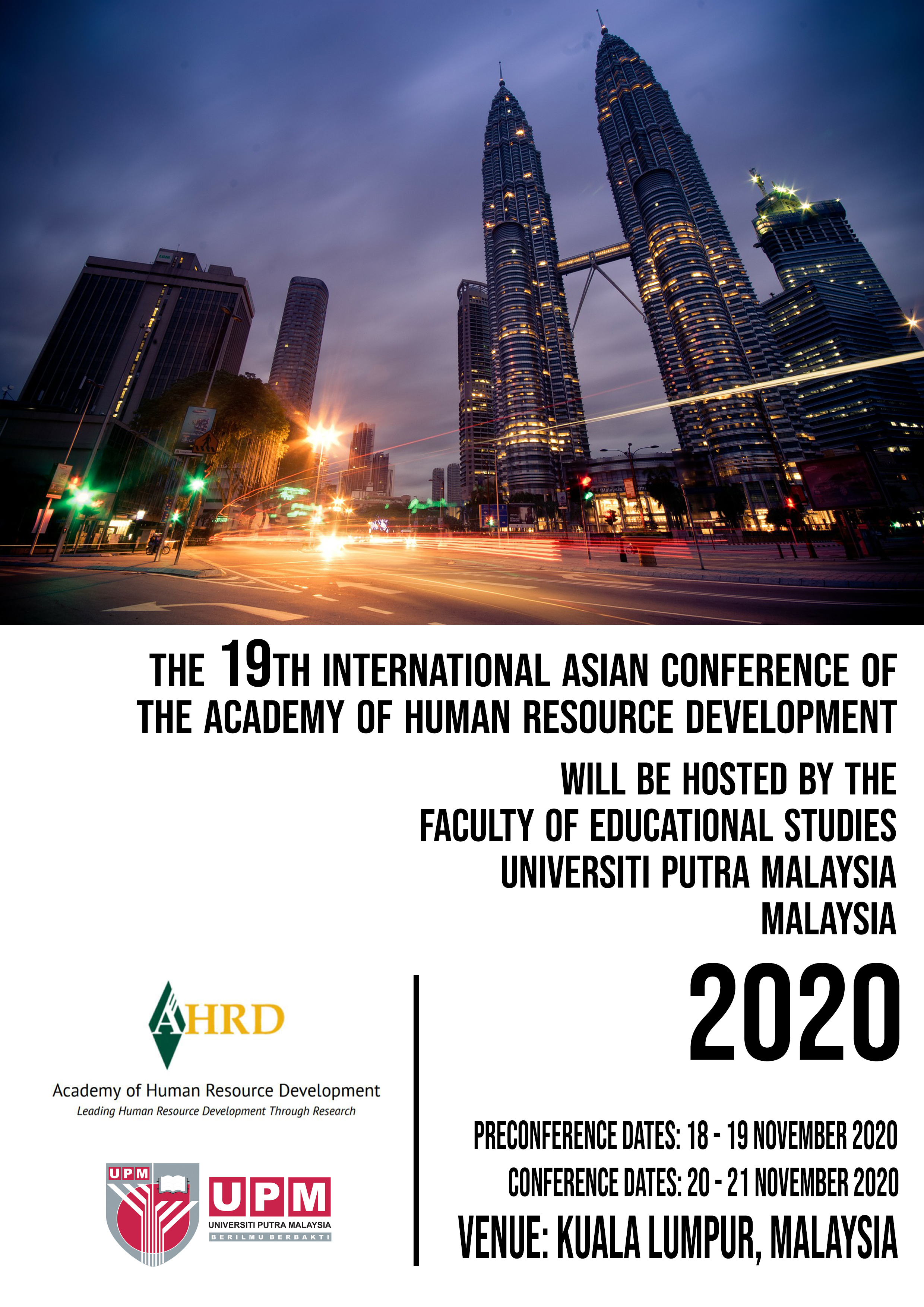 The 19th International Asian Conference of the Academy of Human Resources Development