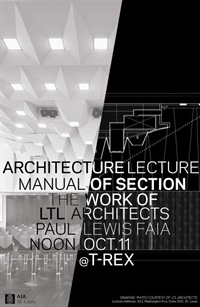 Noon Lecture:  Paul Lewis, FAIA