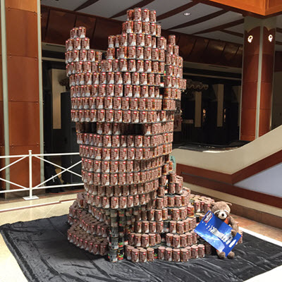 ... Honolulu Chapteru0027s 11th Annual Canstruction® Competition At Pearlridge  Center. Teams Comprised Of Hawaiiu0027s Best Architecture Firms, ...