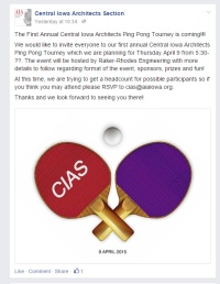 CIAS Ping Pong Tournament