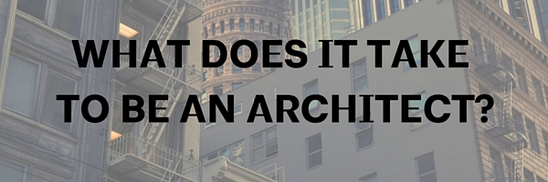 why i want to study architecture