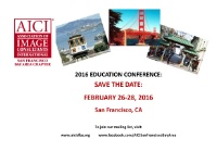 2016 Annual Education Conference