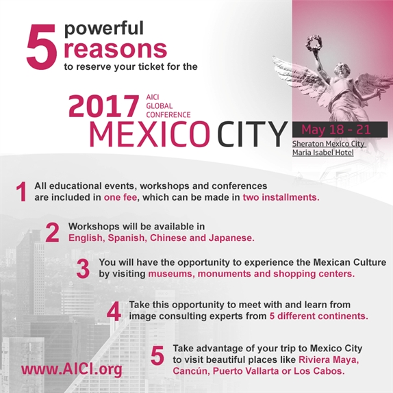 Top 5 Reasons to Attend the AICI Global Conference