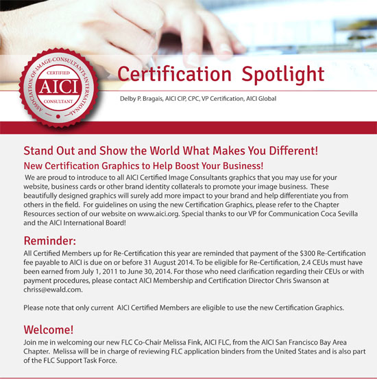 certification spotlight august