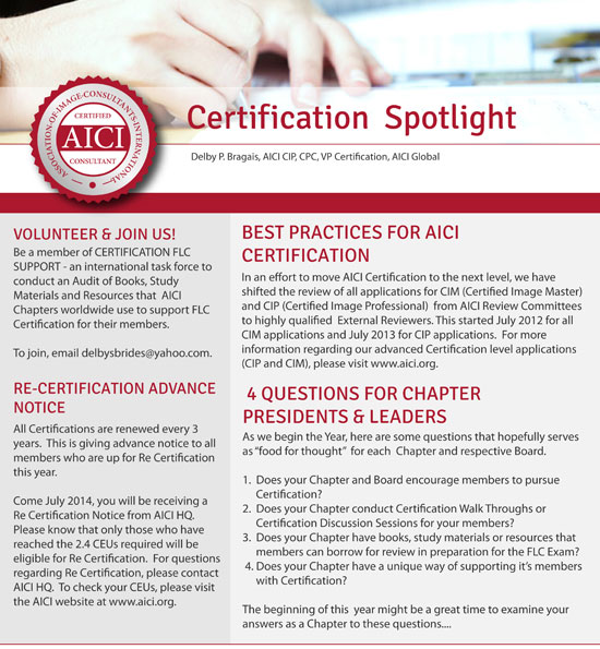 Certification Spotlight
