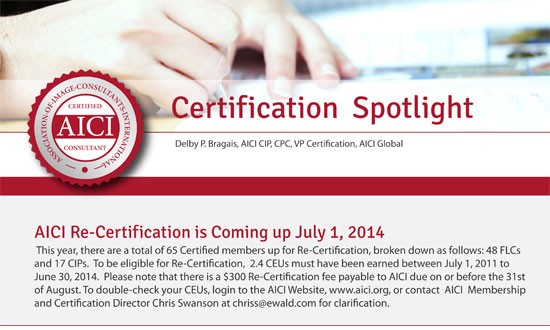 Certification Spotlight July 2014
