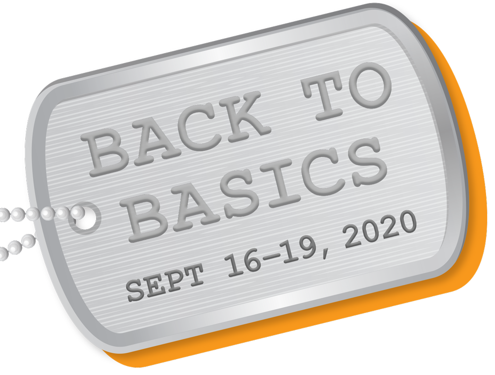 Back to Basics – Sep 16-19, 2020