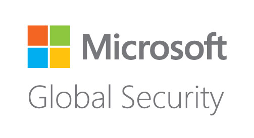 MicrSoft Global Security Logo
