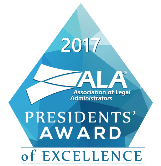 2017 ALA  Presidents' Award of Excellence