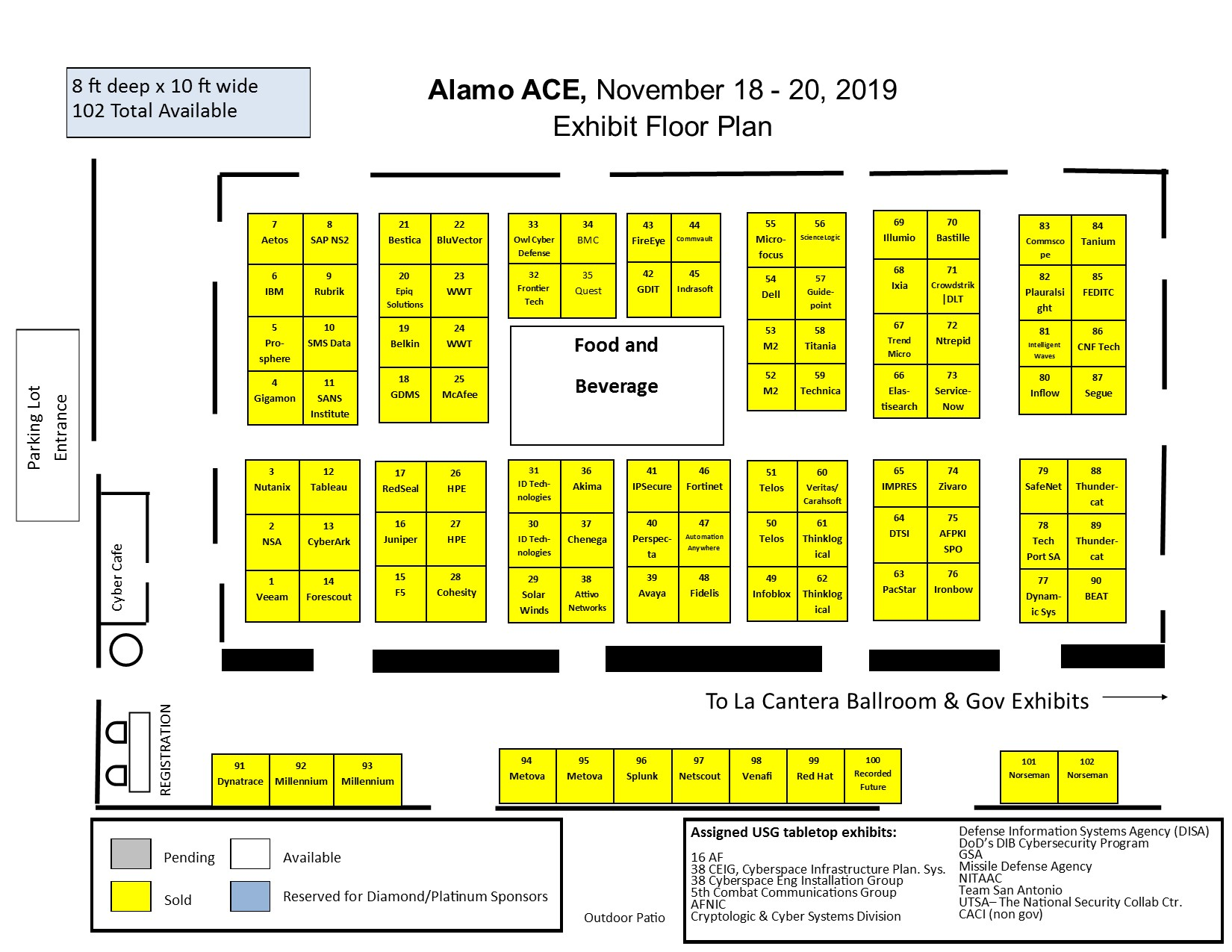 2019 Alamo ACE floorplan