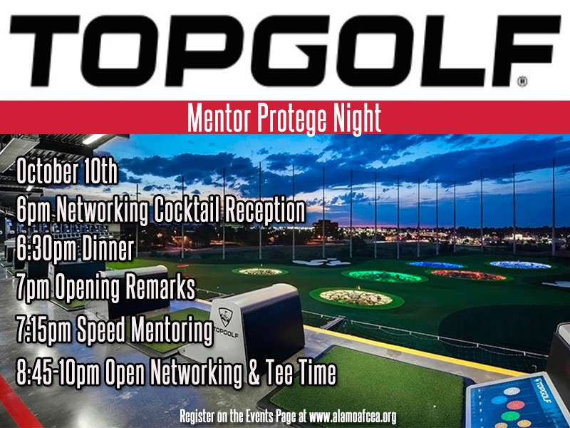 Annual Mentor Protege graphic - Top Golf