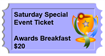 2018 Conference SATURDAY BREAKFAST TICKET