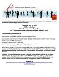 Wells Fargo Job Recruitment