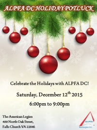 ALPFA 2015 Annual Holiday Potluck