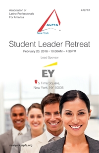 ALPFA NY/ EY Student Leader Retreat