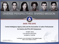The CIA and ALPFA DC 2016 Symposium