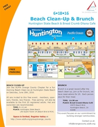 ALPFA OC Beach Clean-Up & Brunch