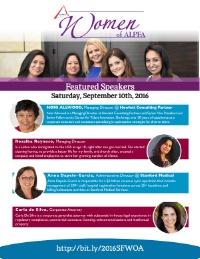 Women of Alpfa 2016
