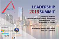 ALPFA Miami Leadership Summit 2017