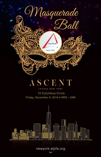9th Annual Masquerade Ball presented by ALPFA New York