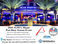 Alpfa Miami Post Busy Season Event!