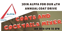 4th Annual Coats and Cocktails Mixer