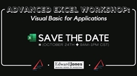 Advanced Excel Workshop: Visual Basic for Applications