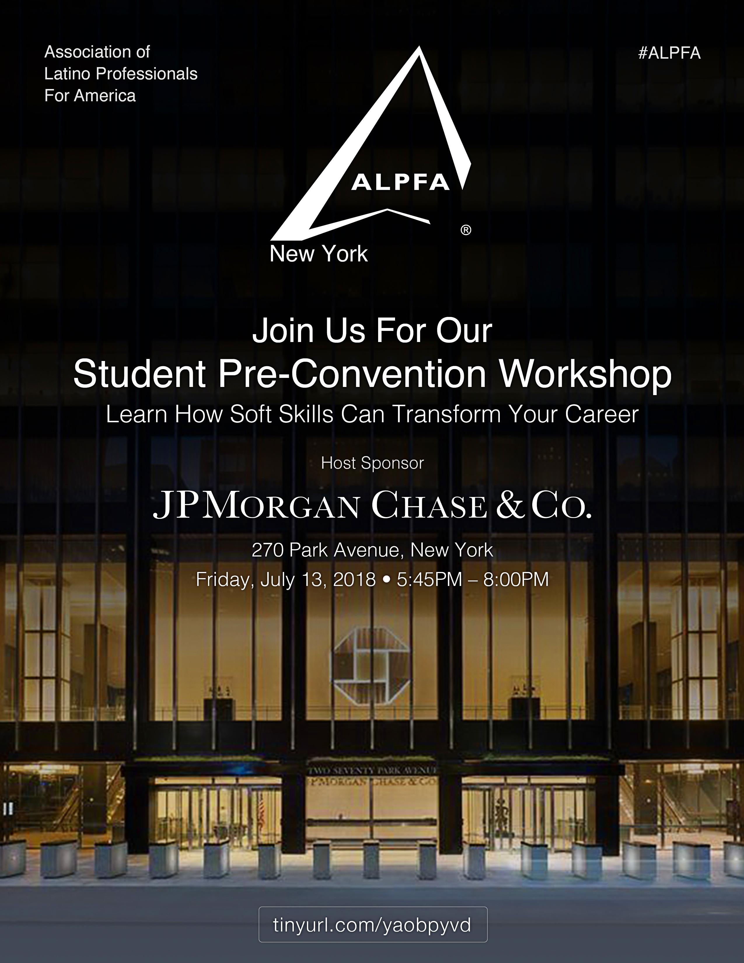 Student Workshop Flyer
