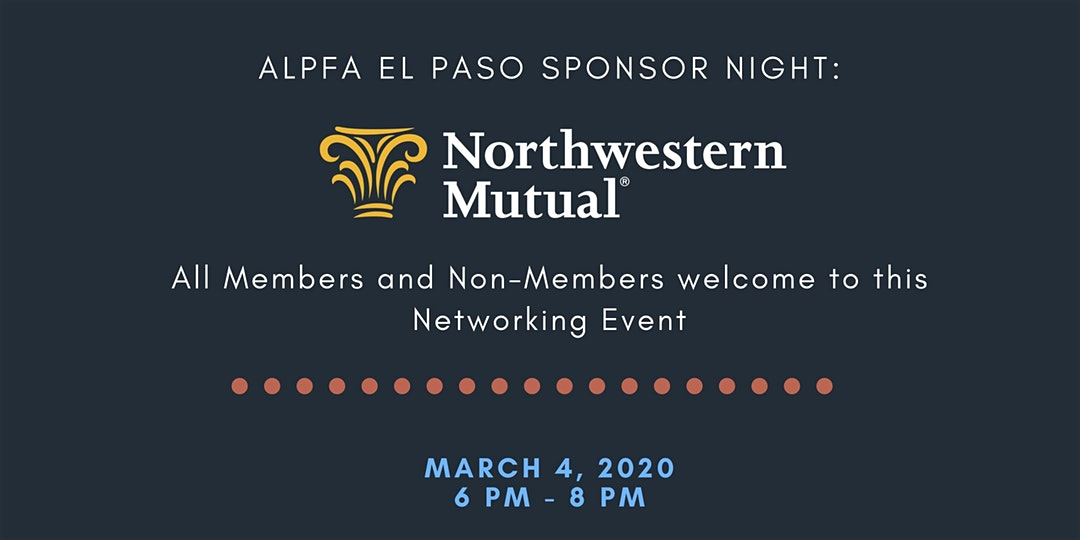 El Paso Chapter Event