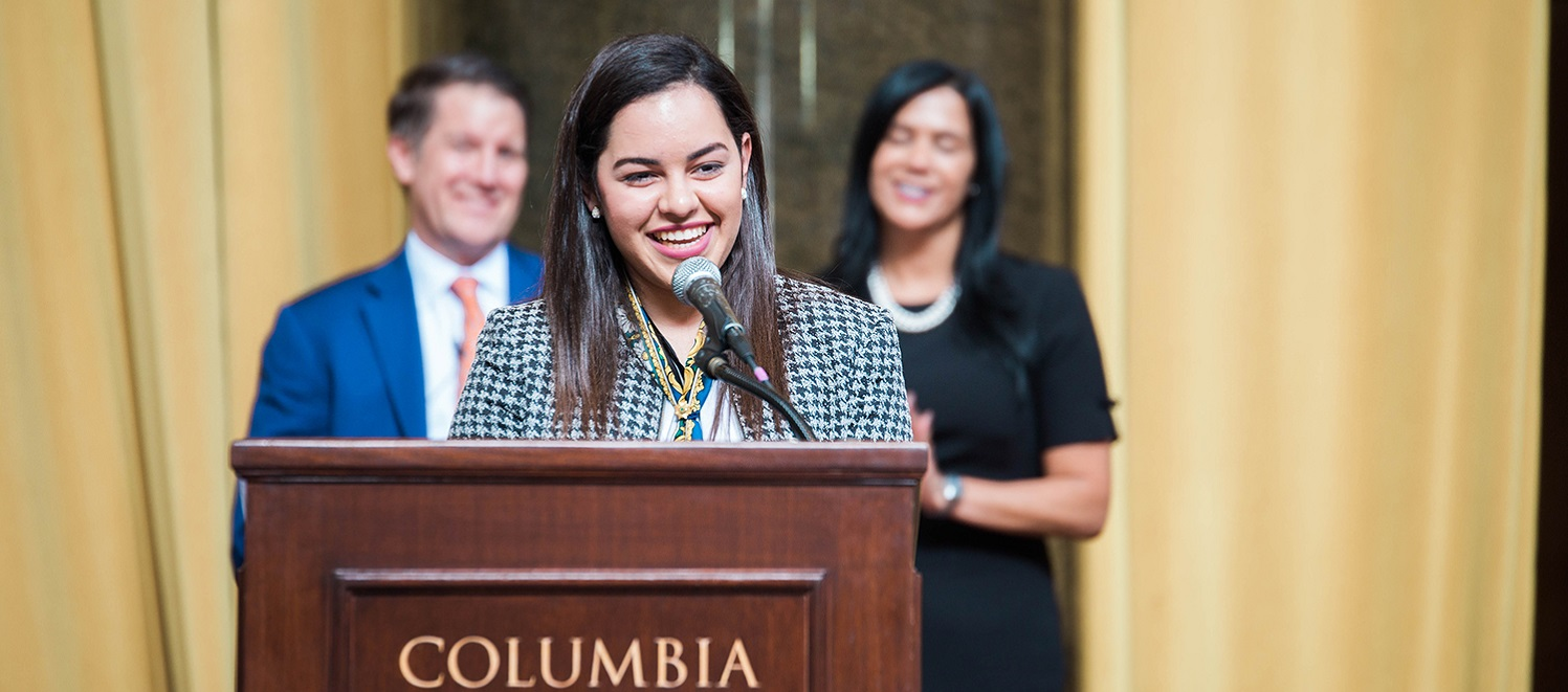 Vilmarie Ocasio recipient of the Girls Scouts Gold Award