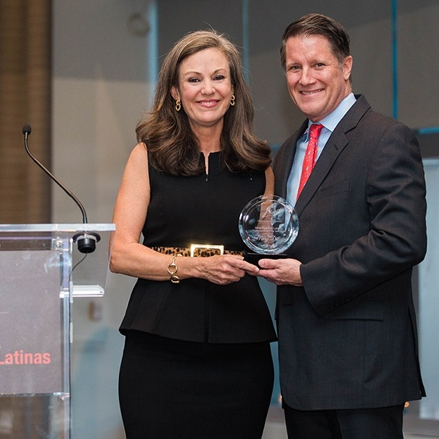 Charlie Garcia, ALPFA CEO and Mary Dillon, CEO Ulta Beauty