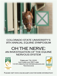 Colorado State University's 9th Annual Equine Symposium