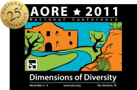 AORE National Conference
