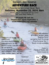 Rookery Bay Adventure Race presented by Up A Creek Kayak Tours