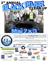 3rd Annual Black River Clean-up
