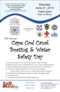 10th Annual Cape Cod Canal Boating & Water Safety Day