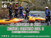 Level 1: Introduction to Kayaking Instructor Certification (IDW/ICE)