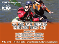 Level 2-4: Whitewater Kayaking Instructor Certification Workshop (IDW/ICE)