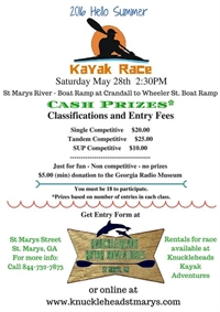 2016 Hello Summer Kayak Race